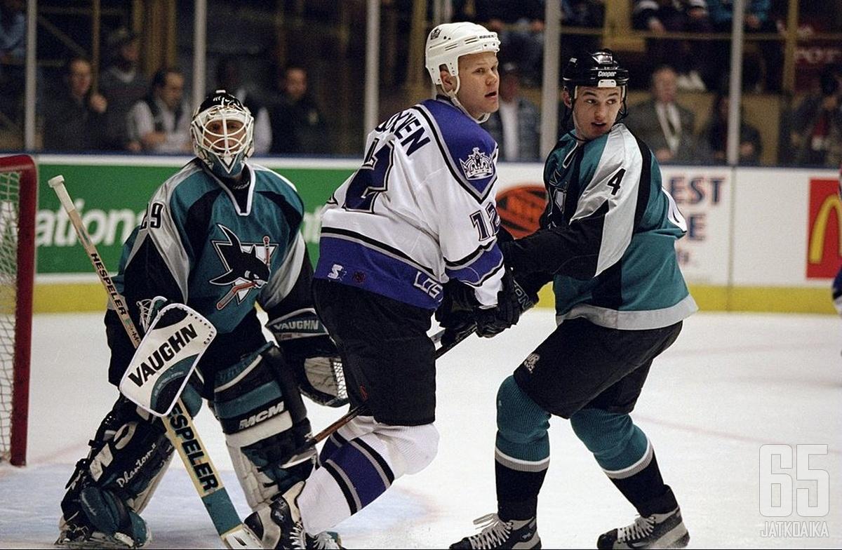 Jokisen NHL-ura käynnistyi Los Angelesissa.
