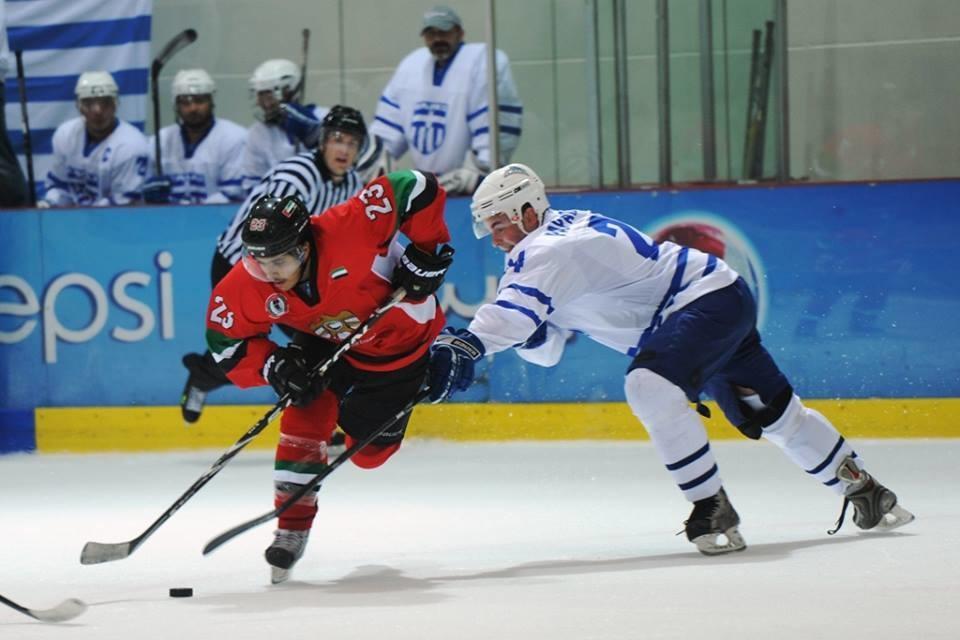 UAE ja Kreikka taistelivat MM-karsinnoissa Abu Dhabissa 2012.