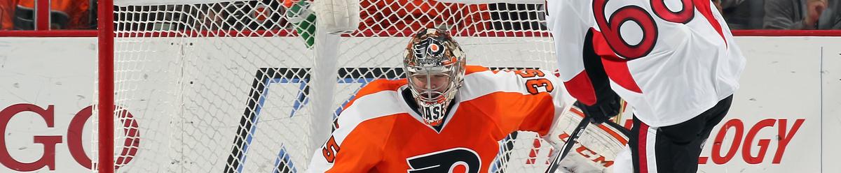 Kello 19:30 Flyers yrittää tehdä kiusaa Senatorsille.