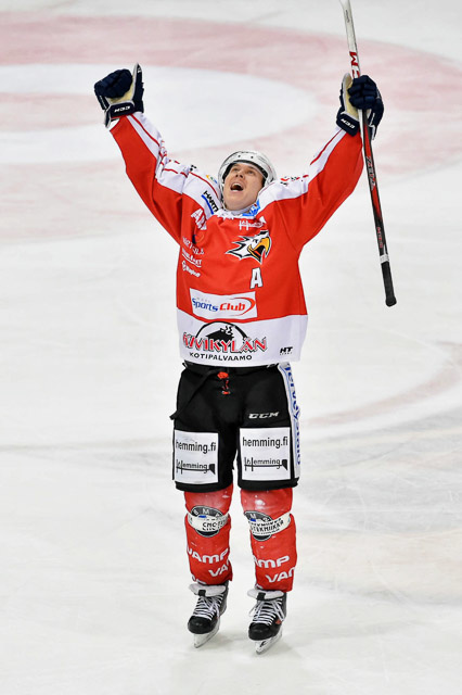 Eetu Heikkinen pelasi mallikkaan kauden.