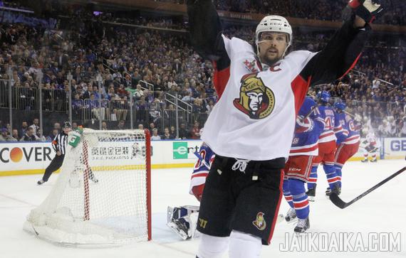 Erik Karlsson on joukkueelleen kaikki kaikessa.