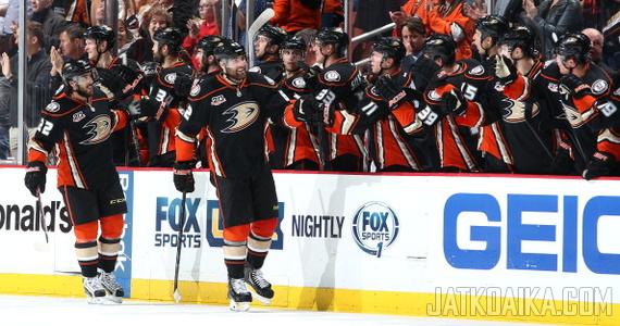 Ducksin PDO oli runkosarjassa NHL:n korkein (103,7) etenkin korkean laukausten onnistumisprosentin ansiosta. Loppuuko onni pudotuspeleissä?