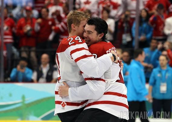Corey Perry ja Drew Doughty nähdään jälleen Kanadan paidassa.