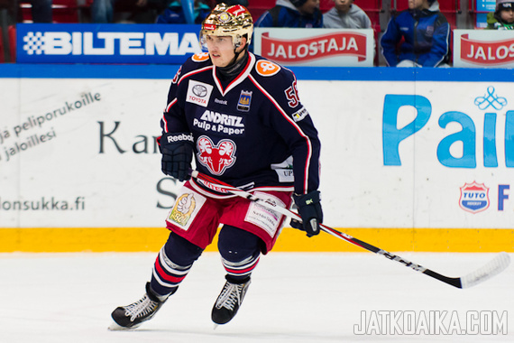 Lasse Lappalainen oli joukkueensa tärkeimpiä pelaajia loukkaantumiseen saakka.