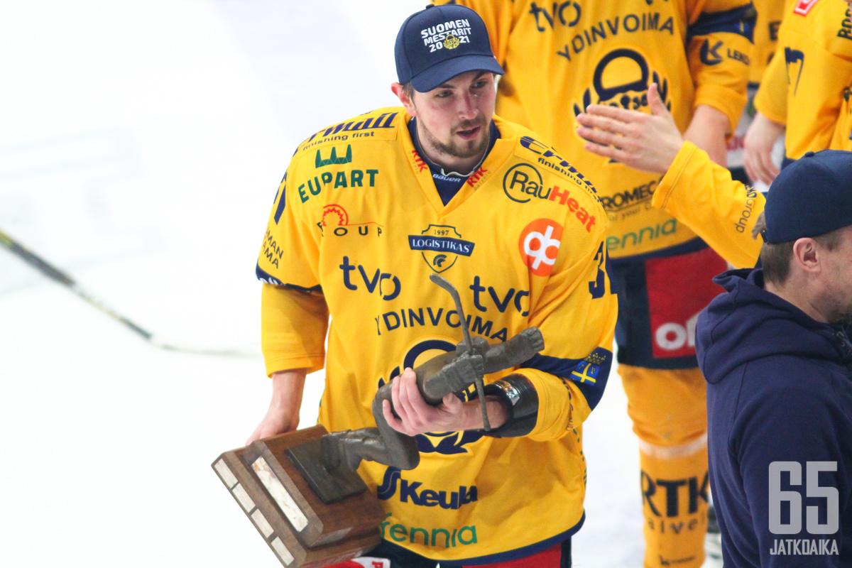 Eetu Koivistoinen esiintyi pudotuspeleissä vahvasti edukseen.
