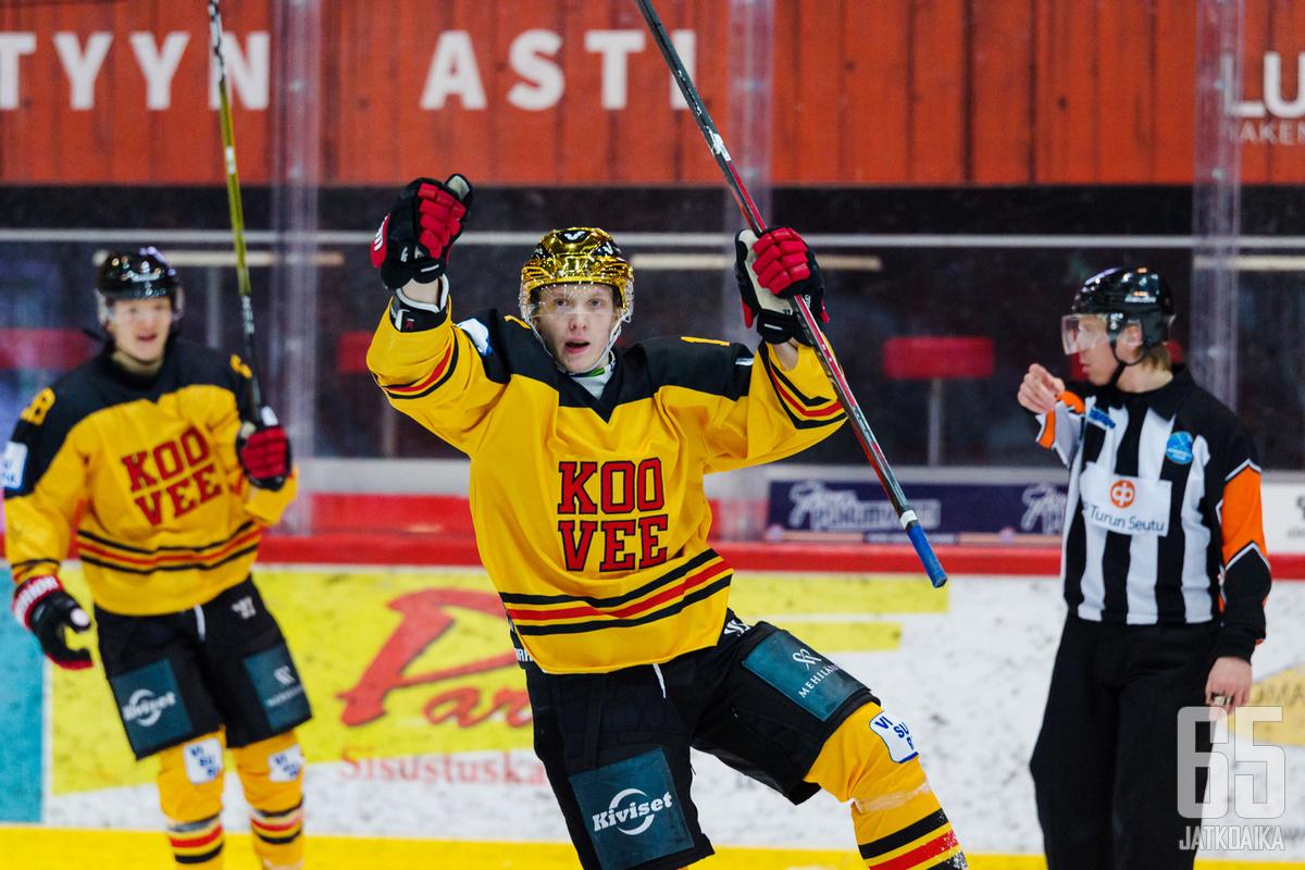 Viime kaudella 24 maalia latonut Vili-Jesper Koivula sai etsiä uuden seuran kesken kauden.