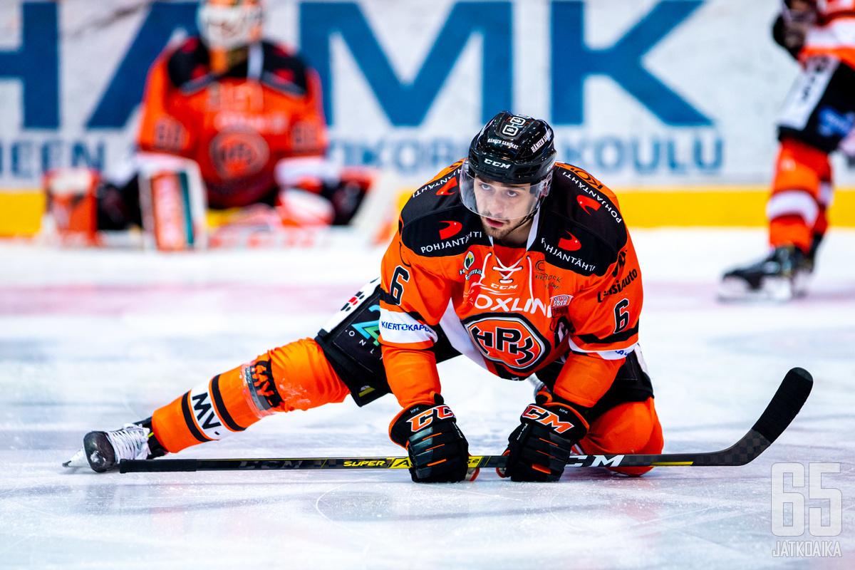 Niklas Friman uskoo HPK:n sisuuntuneen kotitappiostaan.