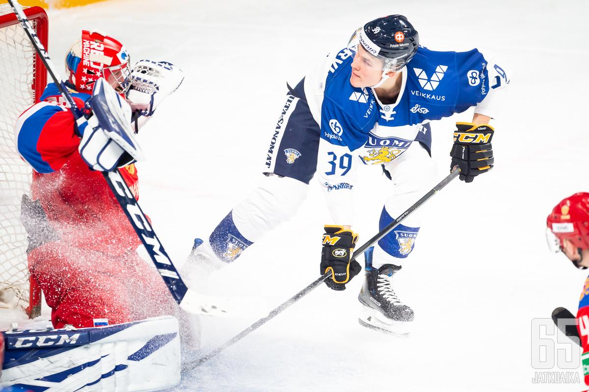 Jesse Puljujärven pelaaminen oli tehotonta.