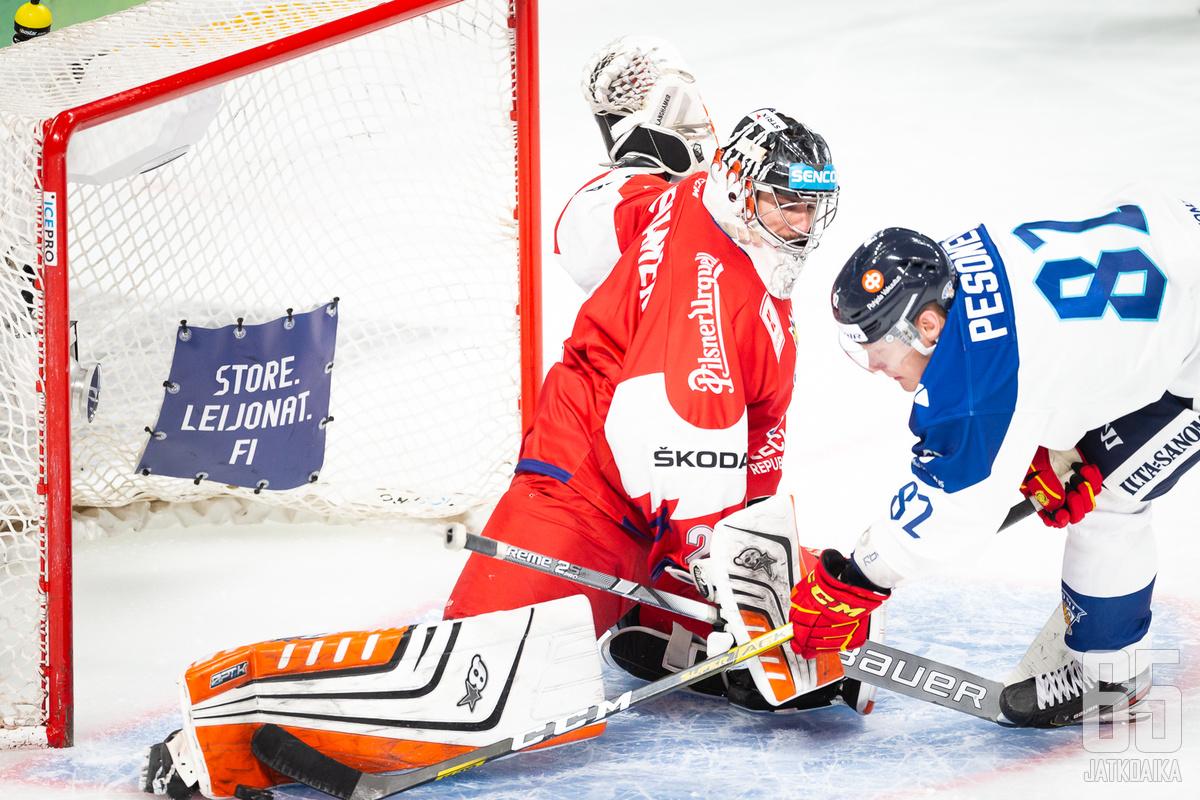 Marek Langhamer on ollut ennenkin suomalaispelaajien kiusana.
