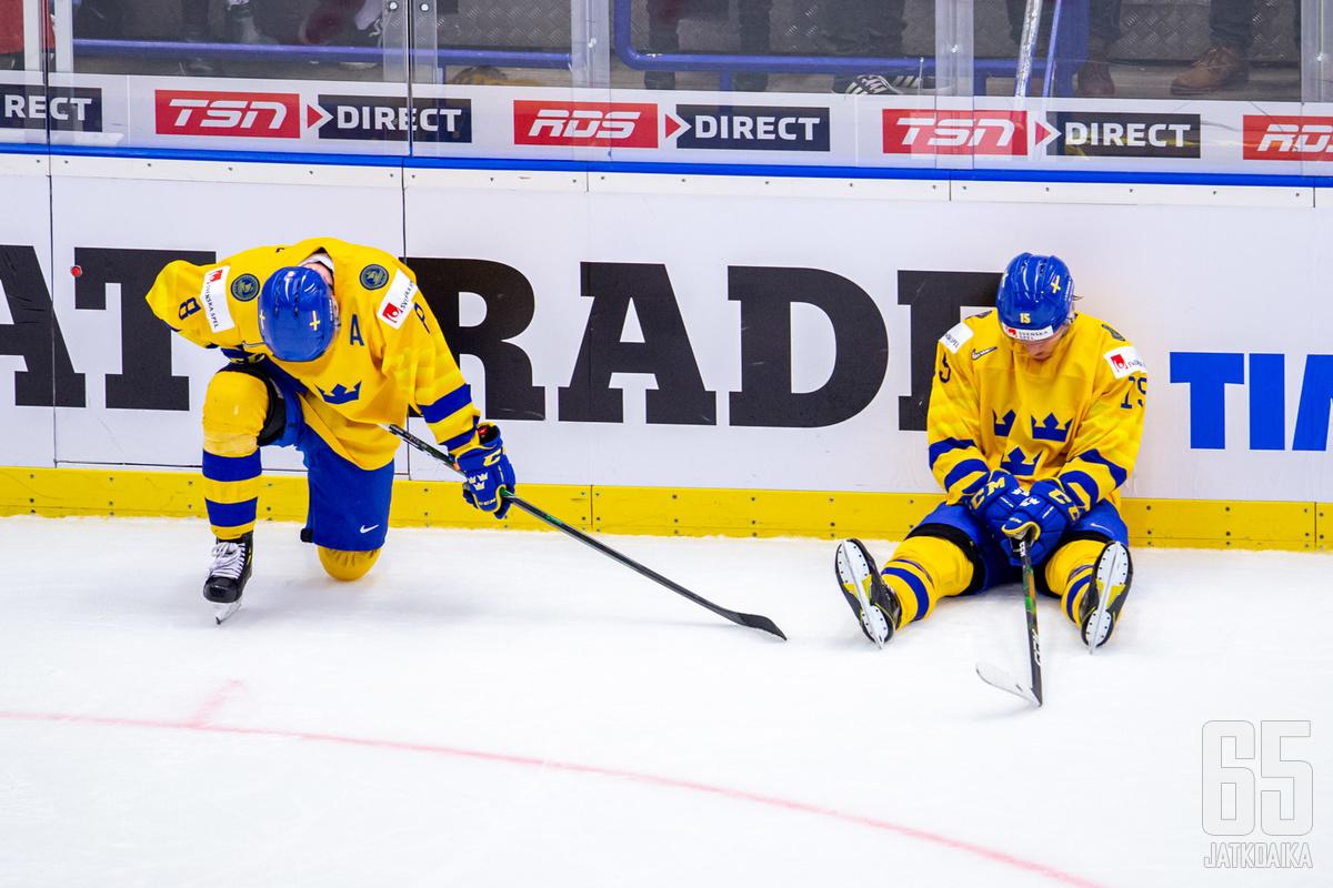 Ruotsin joukkue sai harmittavan uutisen.