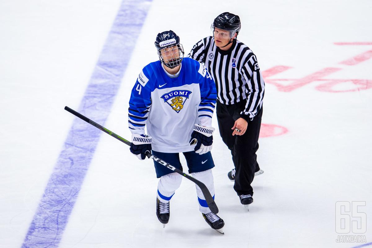 Aatu Räty ei ole Nuorten Leijonien mukana tulevissa MM-kisoissa.