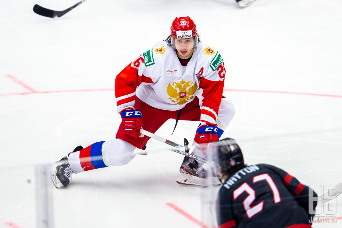 Aleksandr Romanov oli Venäjän joukkueen tehokkain pelaaja MM-turnauksessa.