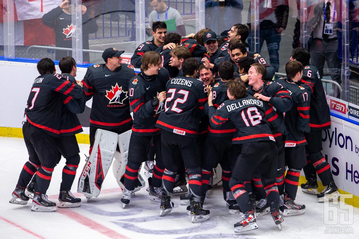 Kanada lähtee turnaukseen puolustavana mestarina.