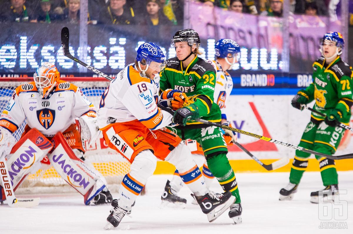 Tampereen paikalliskamppailussa miteltiin tosissaan pisteistä.