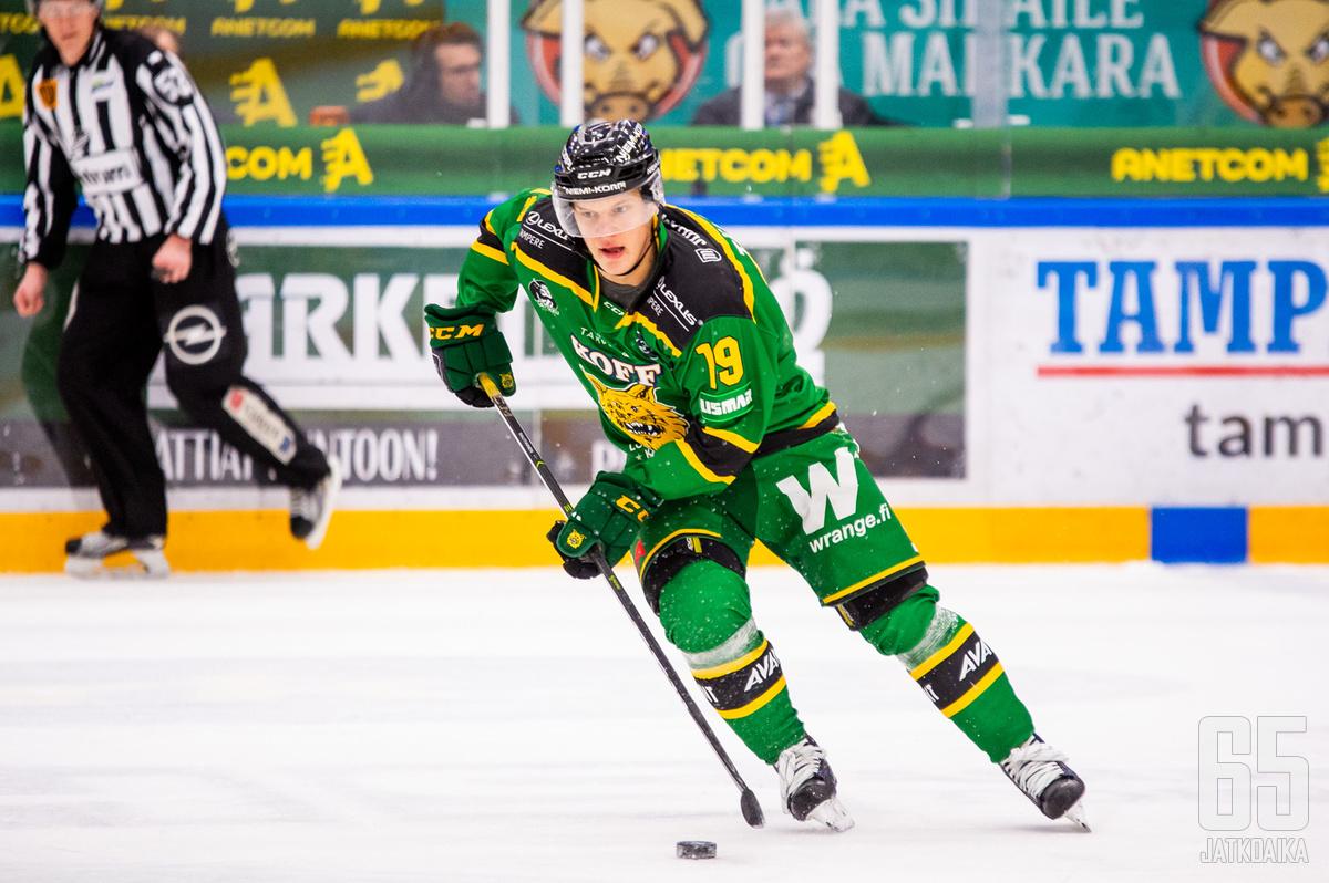 Rautiainen edusti viime kaudella Ilvestä.