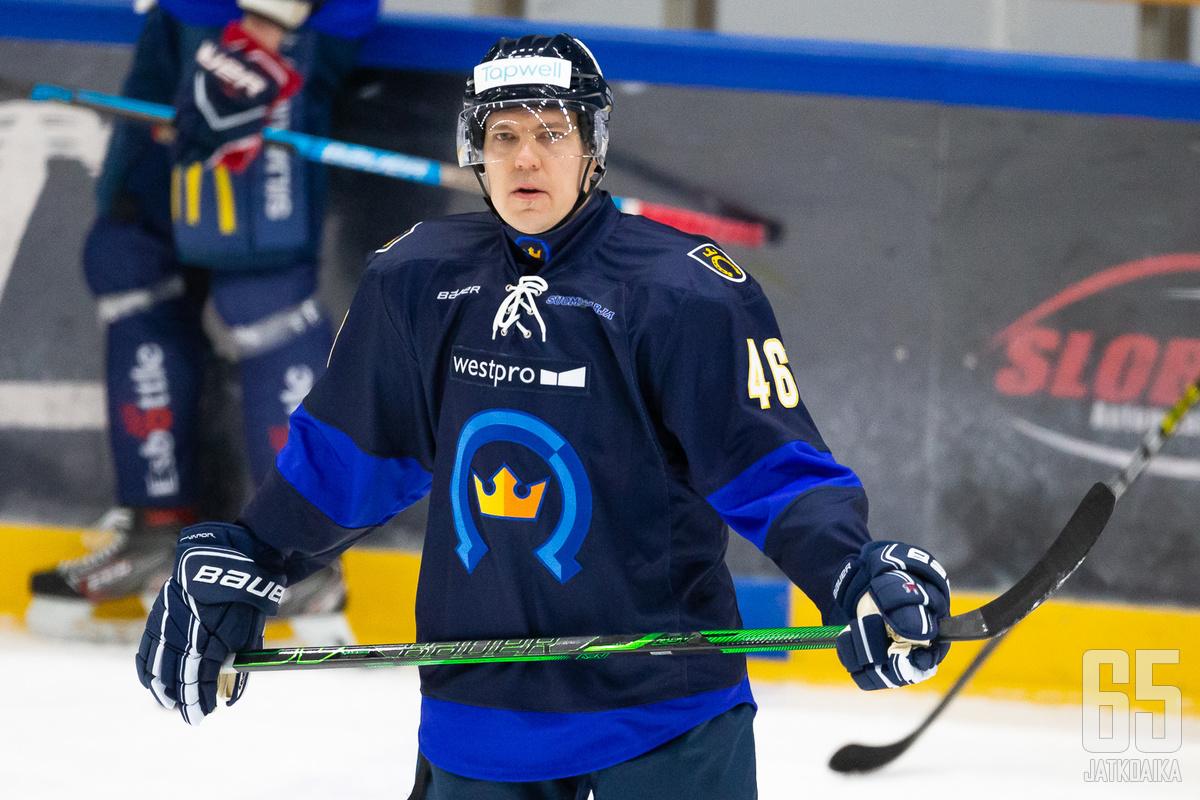 Ramstedt edusti Kiekko-Espoota viimeksi vuosi sitten.