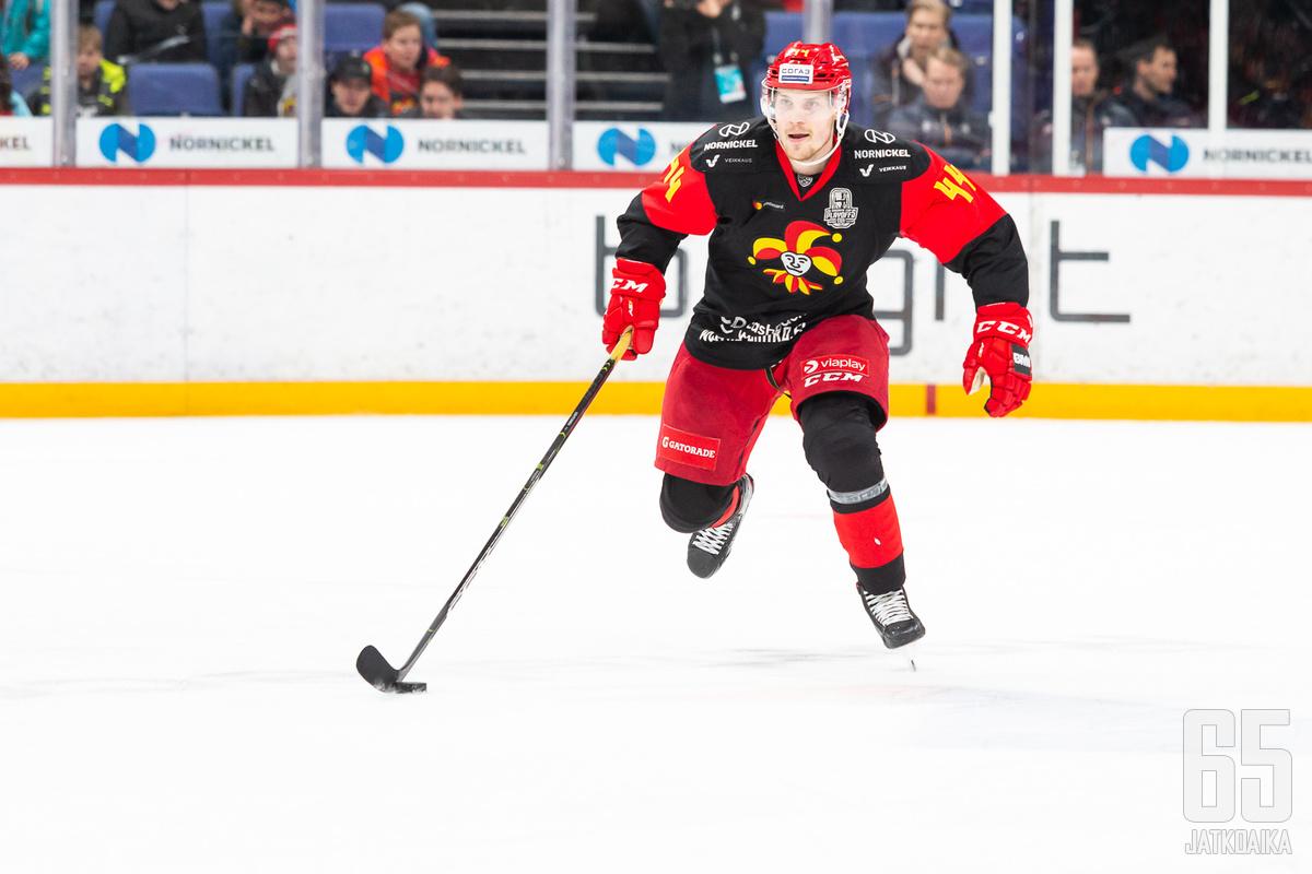 Mikko Lehtonen pelasi huippukauden Jokereissa.