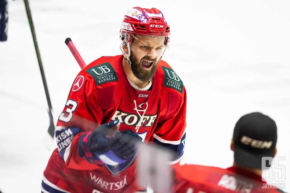 Paajasen HIFK-ura jäi tällä erää yhden kauden mittaiseksi.