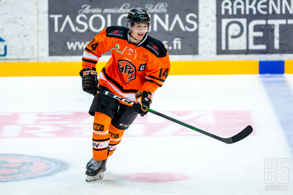 Kolme viime kautta HPK:n U20-joukkueessa pelanneella Heinäsellä on ensi kaudella edessä ensimmäiset miesten pelit Mestiksessä.
