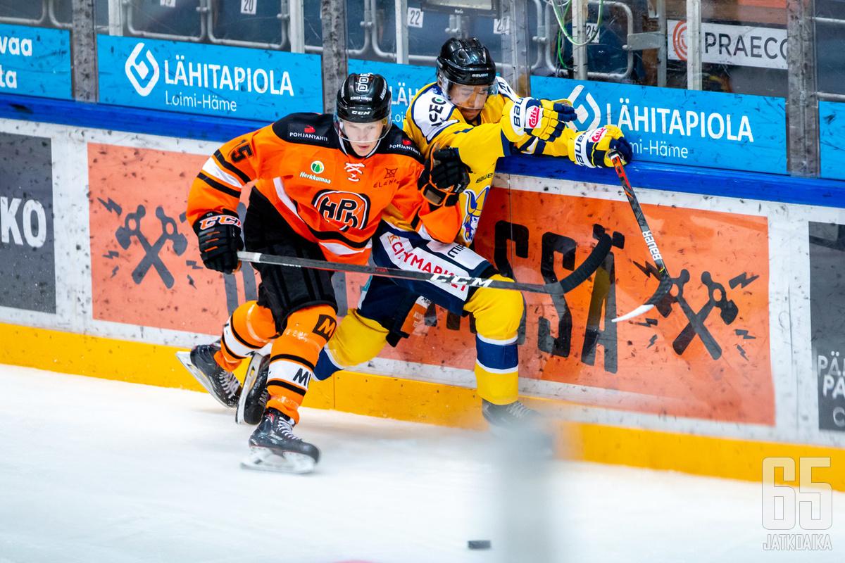 HPK:n ja Jukurien U20-joukkueet kohtasivat Hämeenlinnassa 4.9.2020.