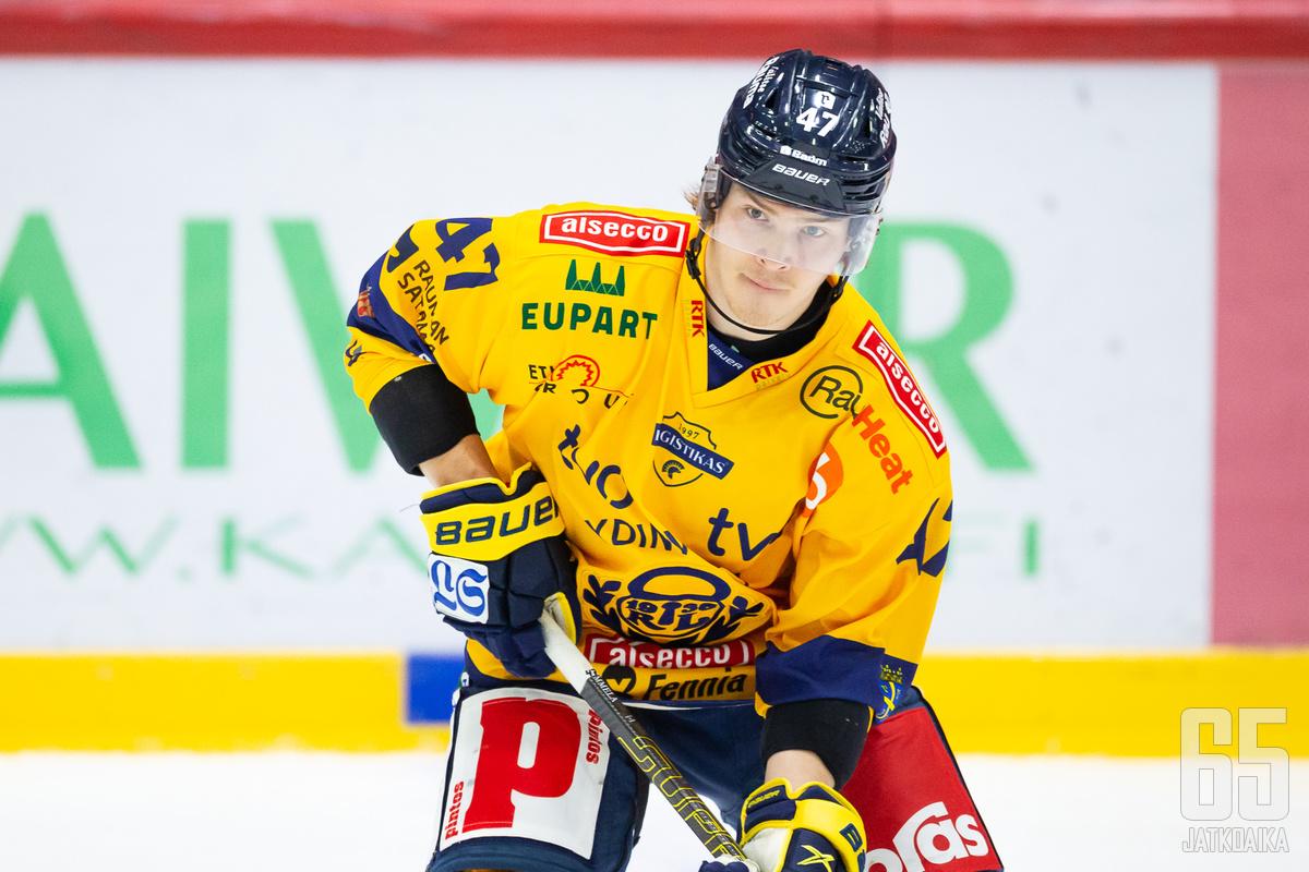 Jonne Tammela voitti Lukon paidassa Suomen mestaruuden.