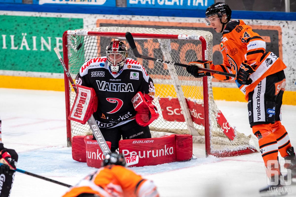 Markus Ruusu pelasi erinomaisen pelin.