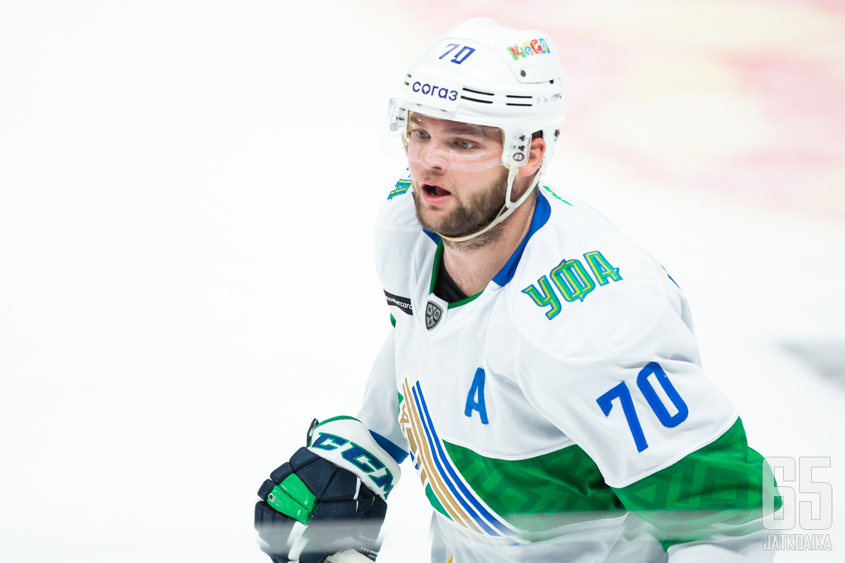 Hartikainen iski Sakari Mannisen kanssa viisi tehopistettä illan KHL-kierroksella.