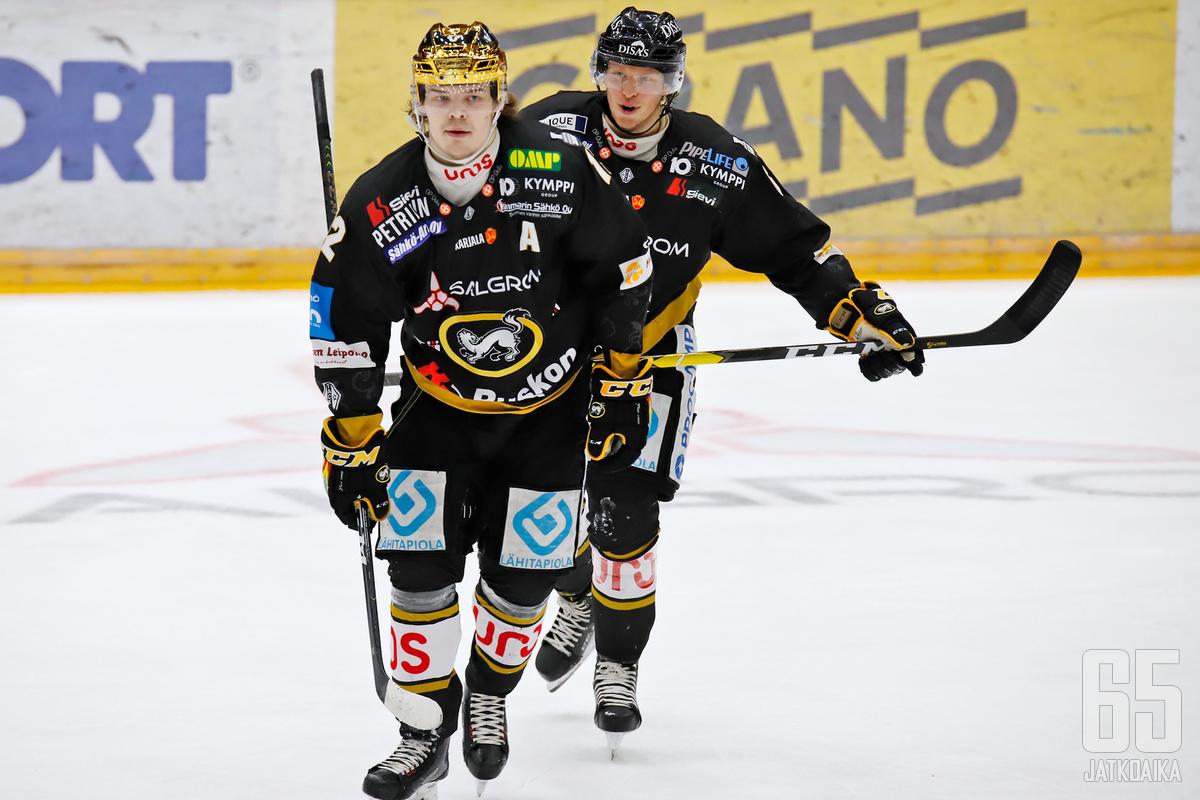 Ville Leskinen johtaa Kärppien hyökkäystä alkavalla kaudella.