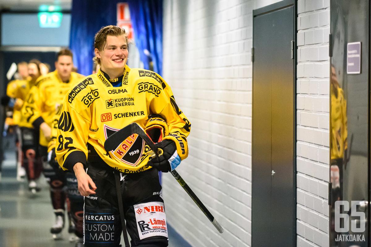 Alexander Ruutulle, 26, oli selvää jäädä Kuopioon.