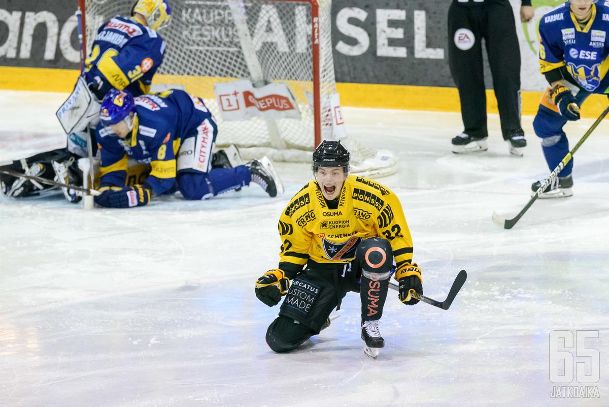 Ruuttu on pelannut uransa toistaiseksi tehokkainta peliään KalPassa.