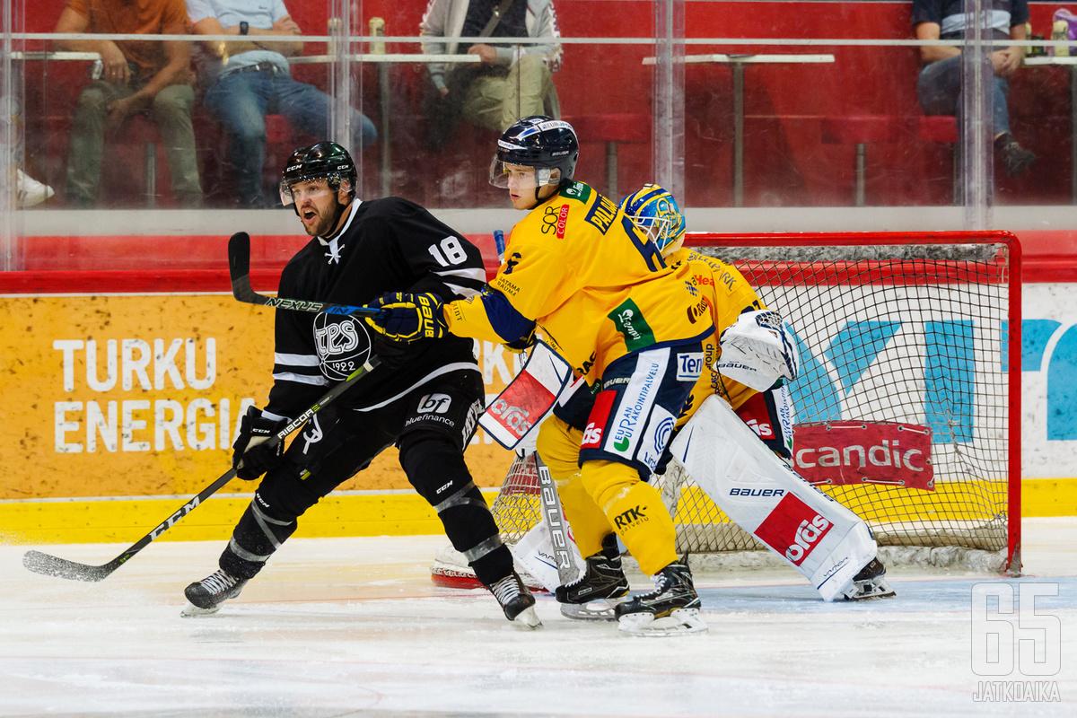Palojärvi on pelannut viime vuodet Lukossa, mutta vähällä Liiga-vastuulla.