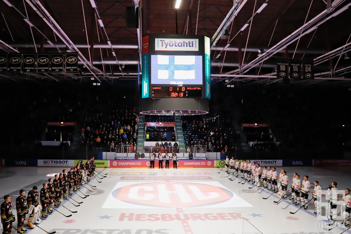 Kärpät ja muut Liiga-joukkueet eivät pääse kilvoittelemaan CHL-mestaruudesta tällä kaudella.