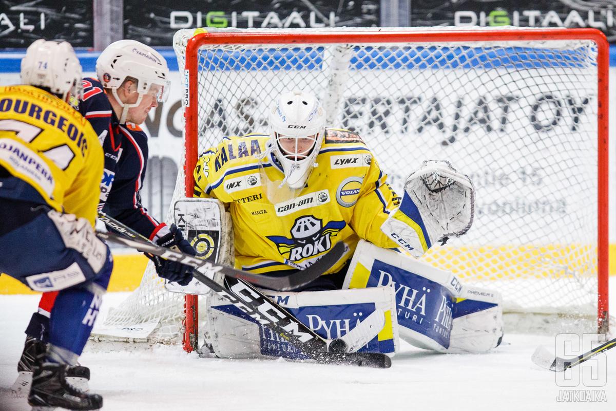 Heikkisen viime kausi kului Rovaniemellä.