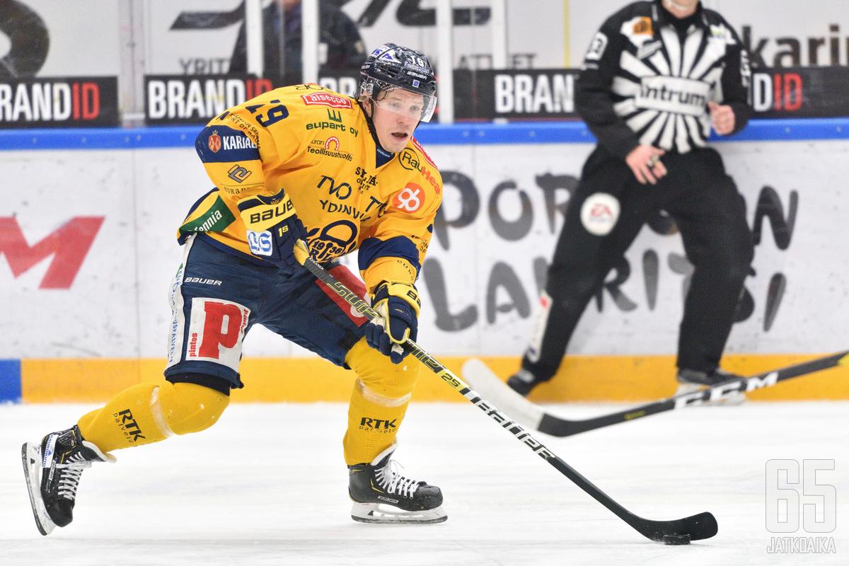Yhdestä onnistumisesta huolimatta Janne Keränen kaipasi lisää terävyyttä Lukon ylivoimapeliin torstaisen Ilves-ottelun jälkeen.