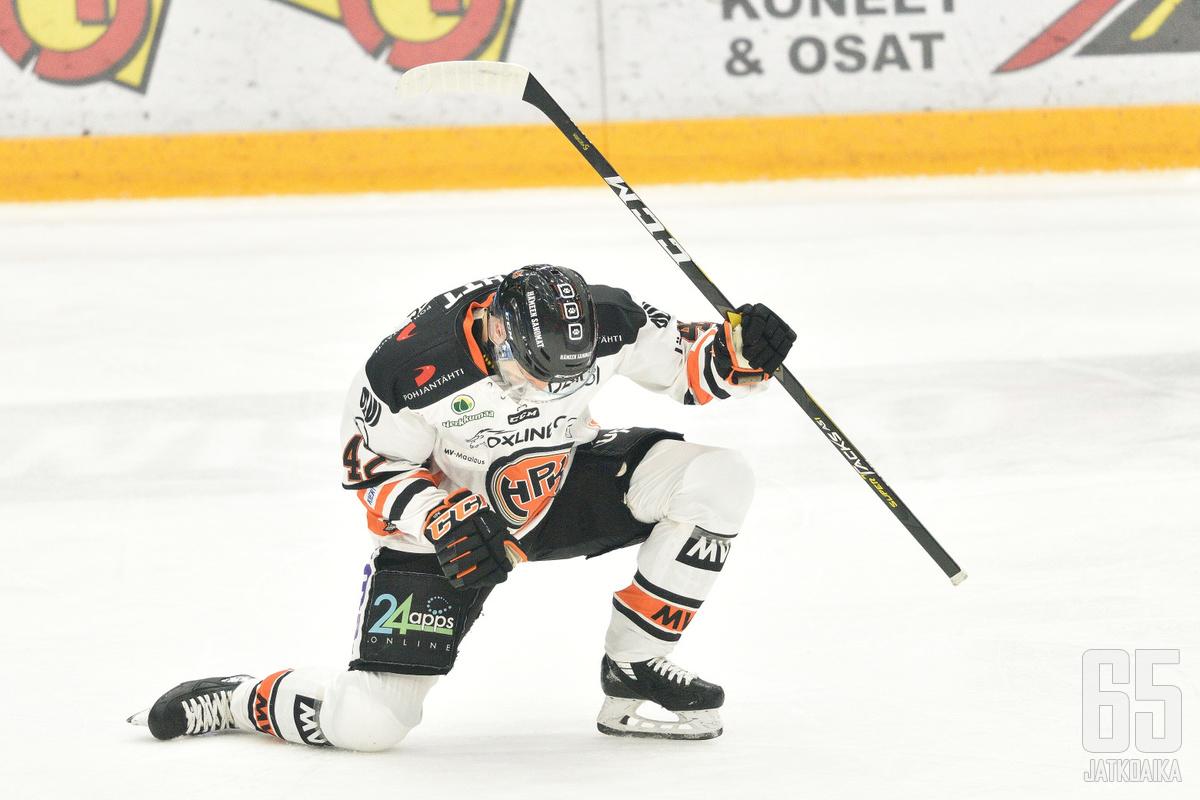 Arto Laatikaisen ylivoimamaali jäi ottelun voittomaaliksi.