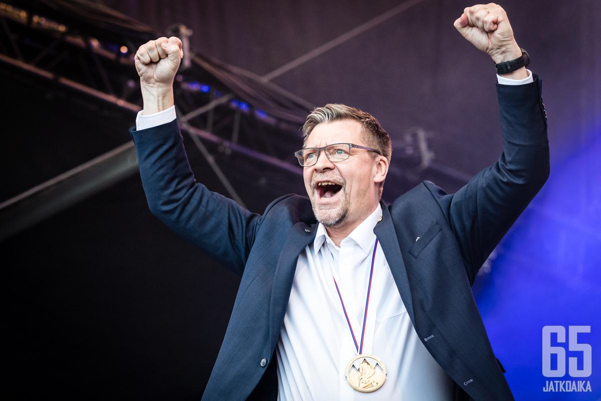 Jukka Jalonen on oikeutetusti yksi ehdokkaista Vuoden valmentajaksi.