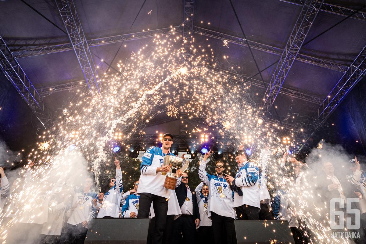 Leijonat voitti viimeksi miesten MM-kultaa 2019.