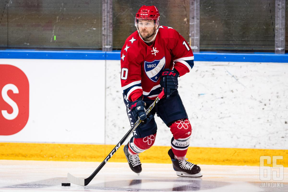 HIFK:hon palaava Mikko Kousa on yksi helsinkiläisten tähtihankinnoista.