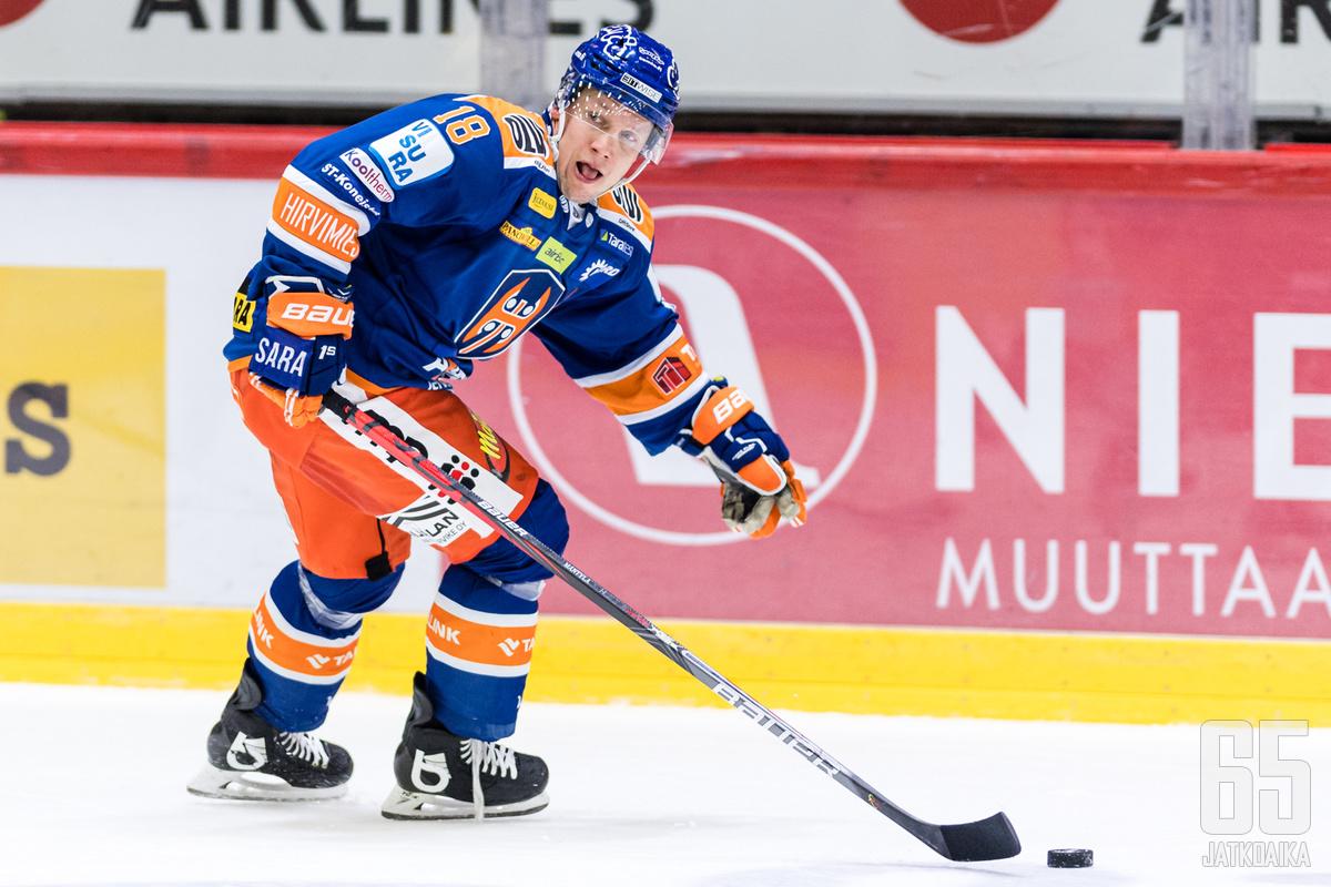 Tuukka Mäntylä päättää pelaajauransa.