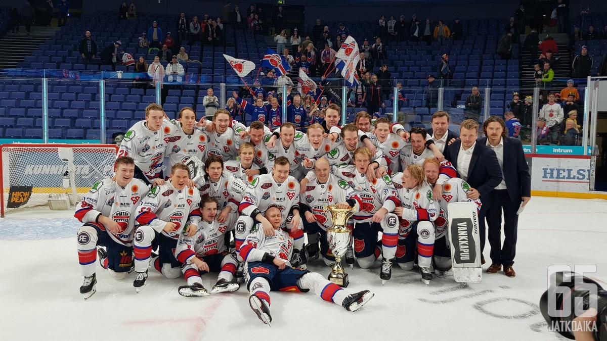 Suomen Cupissa juhli viimeksi Ketterä.