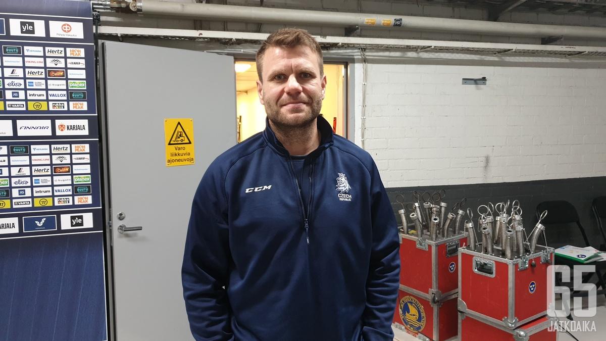Päävalmentaja Vaclav Varada oli tyytyväinen Helsingin-turnauksen peliesityksiin.