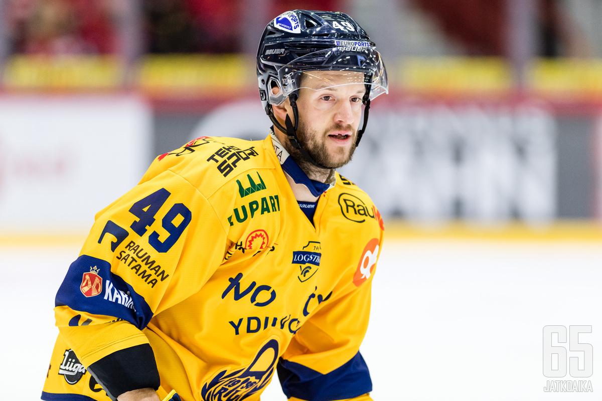 Ilkka Heikkinen pelasi viimeiset ottelunsa Lukon paidassa.