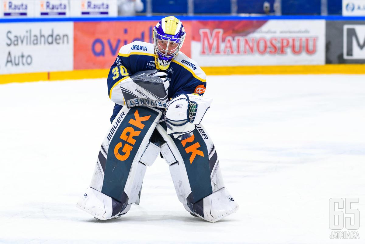 Sami Rajaniemi toimi voiton takuumiehenä.
