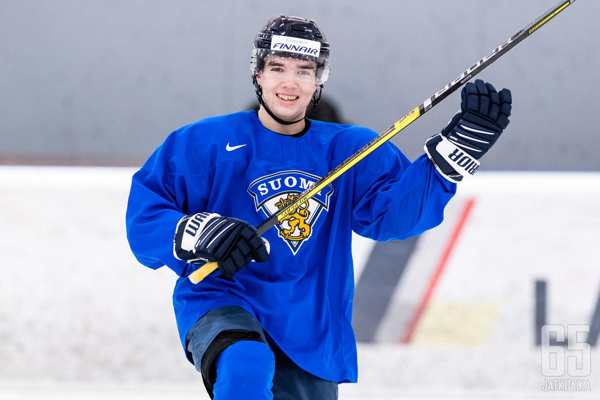 Ville Heinola on Suomen tärkeimpiä pelaajia nuorten MM-kisoissa.