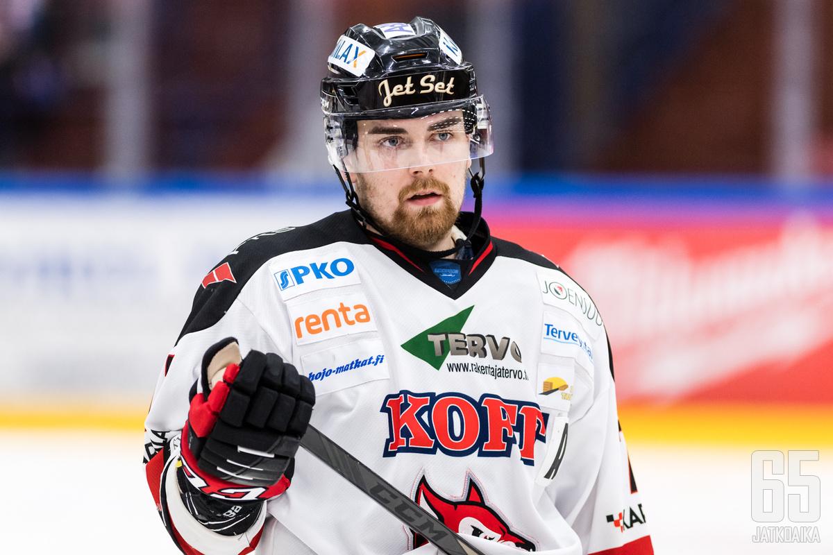 Lassi Raitanen kuului Jokipoikien avainpelaajiin.