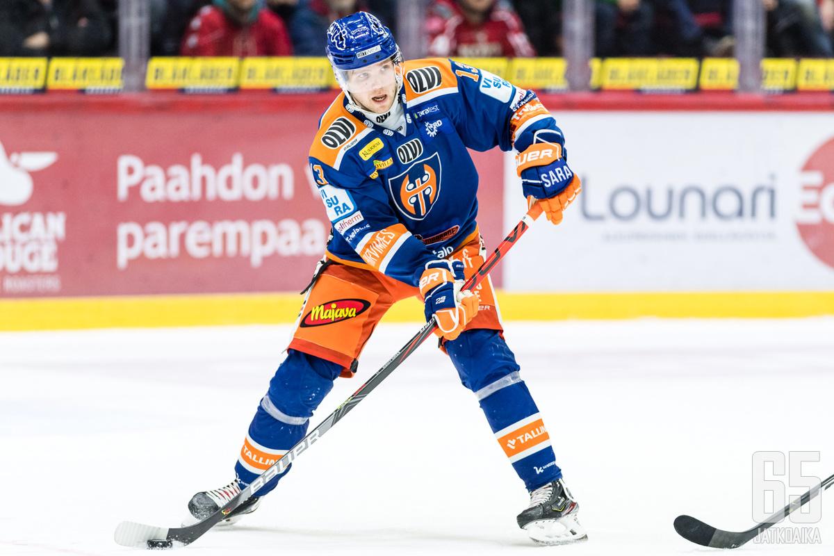 Valtteri Kemiläinen oli pelipäällä.