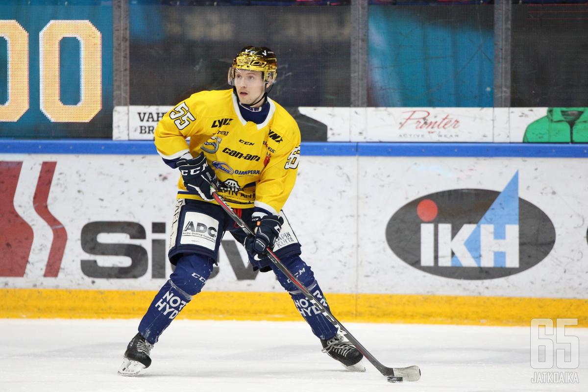 Ville Heikkinen on totuttu näkemään kultainen kypärä päässään.