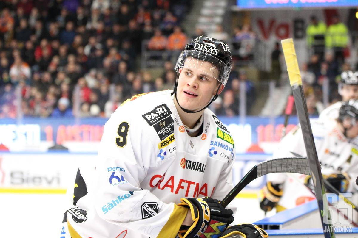 Puljujärvi kiekkoilee ensi kaudella A-kirjain rinnassaan.