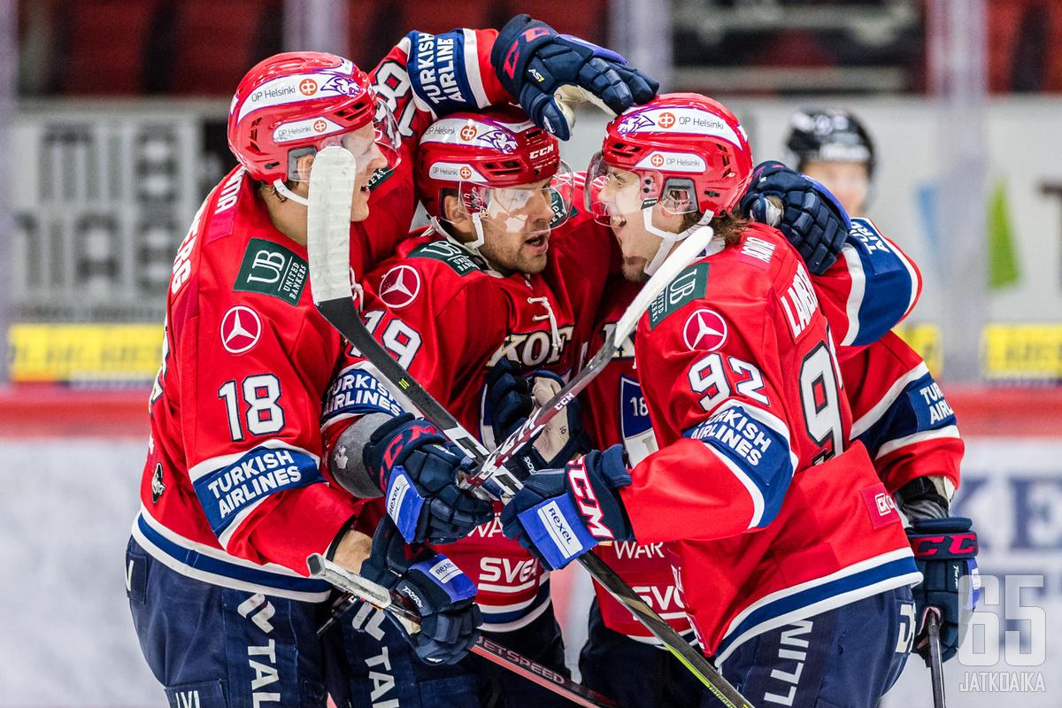 HIFK saa riveihinsä nuoren hyökkääjän Pohjois-Amerikasta.