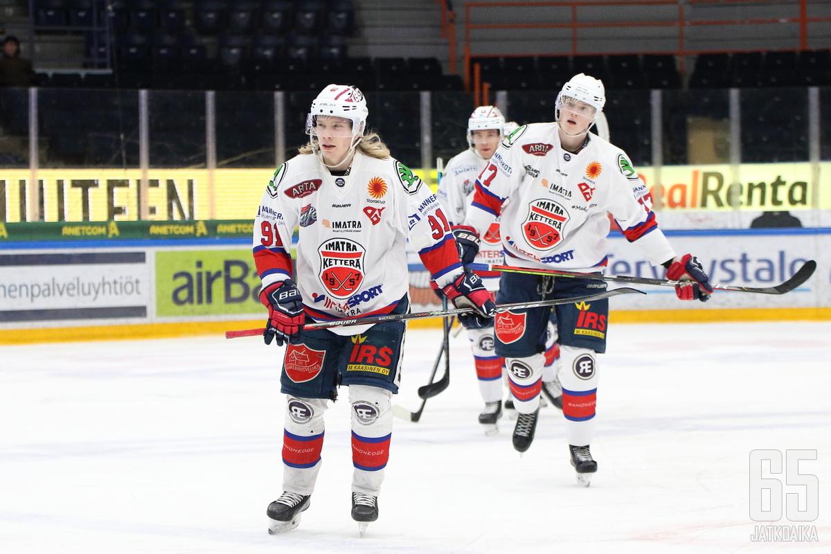 Imatran Ketterä voitti keskeytyneen Mestis-kauden runkosarjan.
